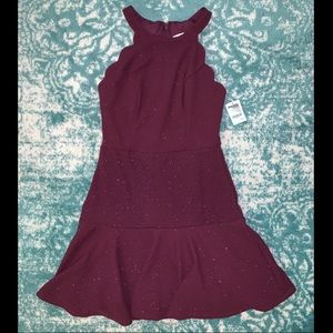 NTW Burgundy Dress from Charlotte Russe